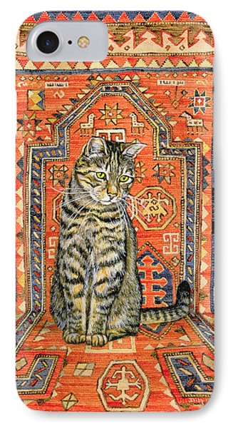The Carpet Cat IPhone Case by Ditz