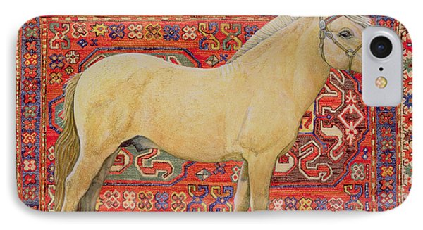 The Carpet Horse IPhone Case by Ditz