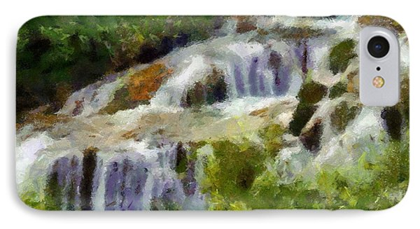 The Cascades Of Plitvice IPhone Case by Dragica  Micki Fortuna