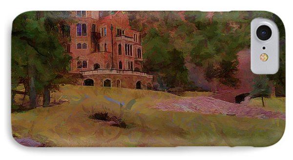 IPhone Case featuring the digital art The Castle by Ernie Echols