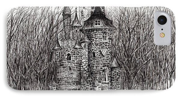 The Castle In The Forest Of Findhorn IPhone Case