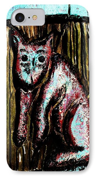 IPhone Case featuring the photograph The Cat by John King