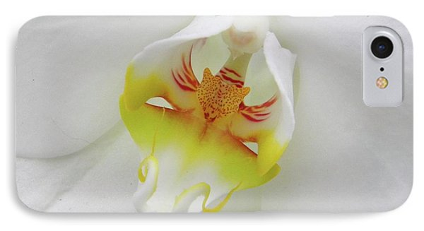 IPhone Case featuring the photograph The Cat Side Of An Orchid by Manuela Constantin
