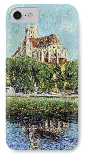 The Cathedral At Auxerre Phone Case by Gustave Loiseau
