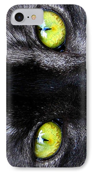 The Cat's Eyes IPhone Case