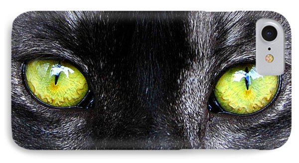 The Cat's Eyes Horizontal IPhone Case