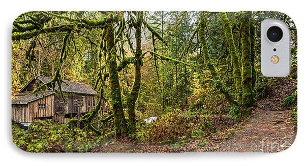 The Cedar Creek Grist Mill Trail IPhone Case