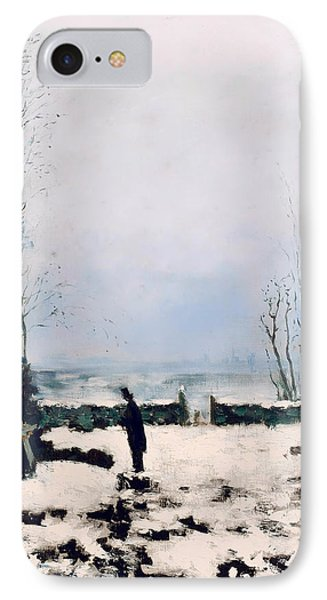 The Cemetery IPhone Case