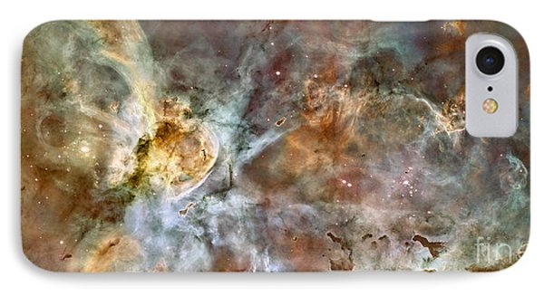 The Central Region Of The Carina Nebula IPhone Case by Stocktrek Images
