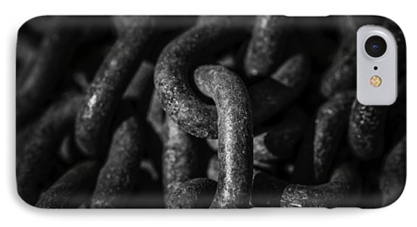 IPhone Case featuring the photograph The Chains That Bind Us by Jason Moynihan