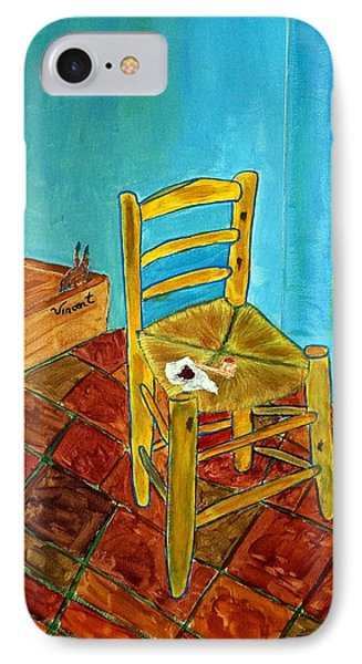 IPhone Case featuring the photograph The Chair by Joseph Frank Baraba