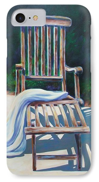 The Chair Phone Case by Shannon Grissom
