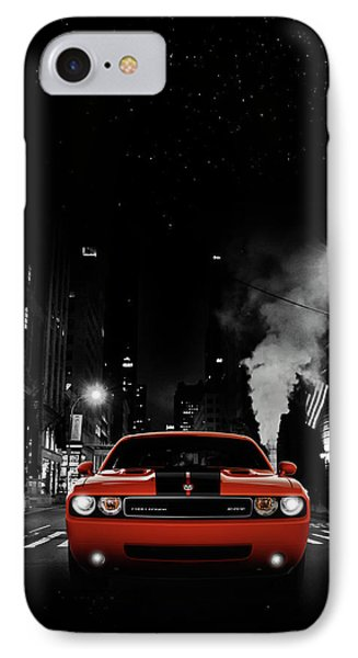 The Challenger Srt8 IPhone Case by Mark Rogan