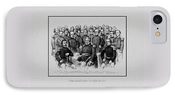 The Champions Of The Union -- Civil War IPhone Case