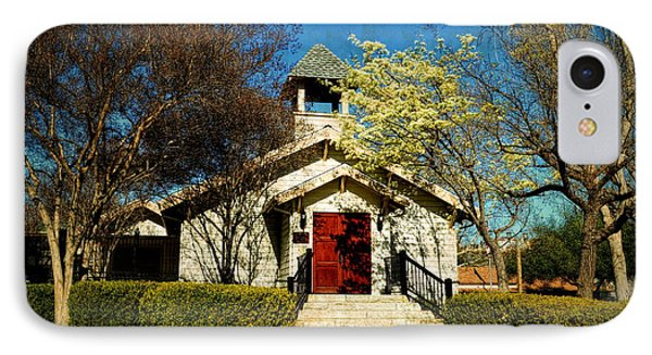 The Chapel Of Memories - Temecula IPhone Case by Glenn McCarthy