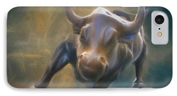 The Charging Bull IPhone Case