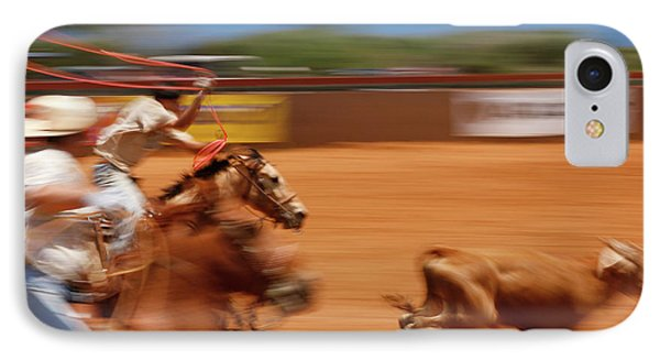 IPhone Case featuring the photograph The Chase by Roger Mullenhour