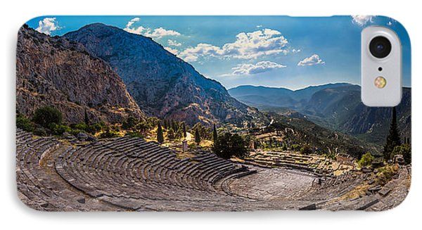 IPhone Case featuring the photograph The Cheap Seats At Delphi by Micah Goff