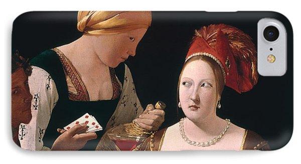 The Cheat With The Ace Of Diamonds Phone Case by Georges de la Tour