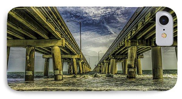 The Chesapeake Bay Bridge IPhone Case by Nick Zelinsky