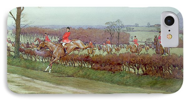 The Cheshire Away From Tattenhall Phone Case by Cecil Charles Windsor Aldin