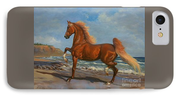 The Chestnut Mare IPhone Case by Jeanne Newton Schoborg