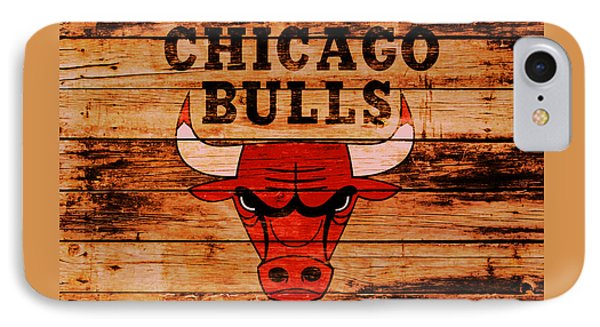 The Chicago Bulls 2w IPhone Case by Brian Reaves