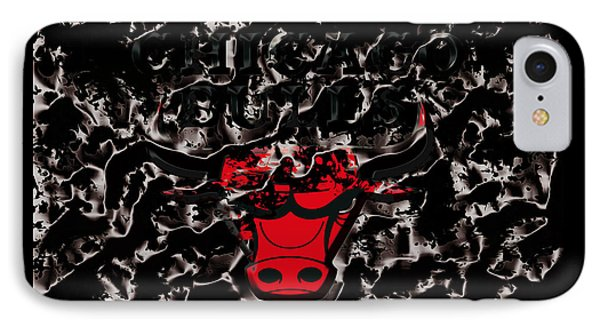 The Chicago Bulls 3e IPhone Case by Brian Reaves