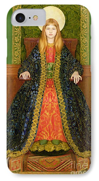 The Child Enthroned IPhone Case