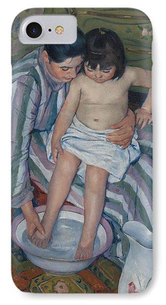 The Child's Bath Phone Case by Mary Cassatt