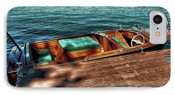 The Chris Craft Continental - 1958 IPhone Case by David Patterson