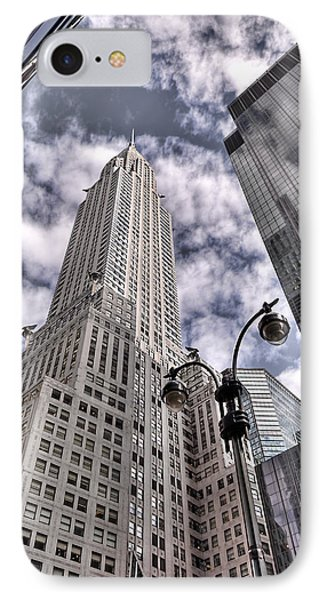 The Chrysler Building In Nyc Usa Phone Case by Robert Ponzoni