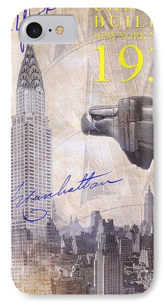 The Chrysler Building IPhone Case by Jon Neidert