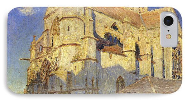 The Church At Moret IPhone Case