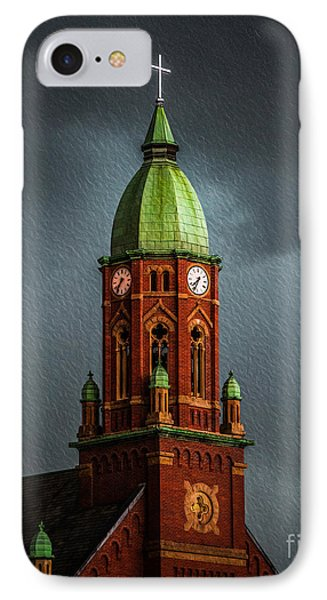 The Church  IPhone Case by Michael Arend