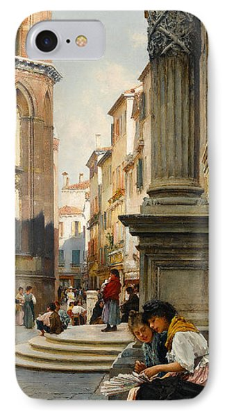 The Church Of The Frari And School Of San Rocco, Venice IPhone Case