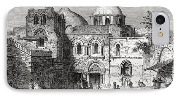 The Church Of The Holy Sepulchre In The IPhone Case