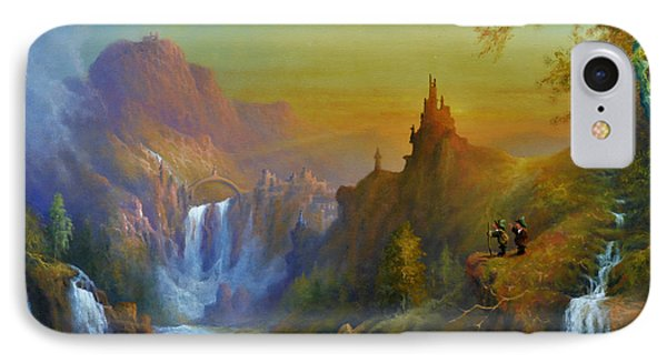 The Citadel Under The Moon IPhone Case
