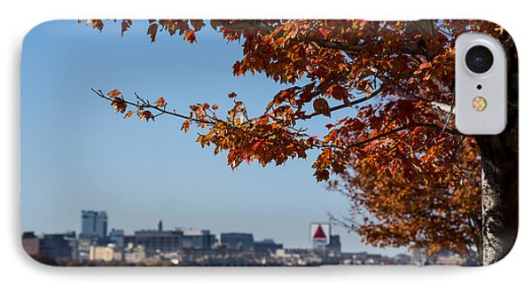The Citgo Sign Through The Trees Boston Ma Charles River 2 IPhone Case by Toby McGuire
