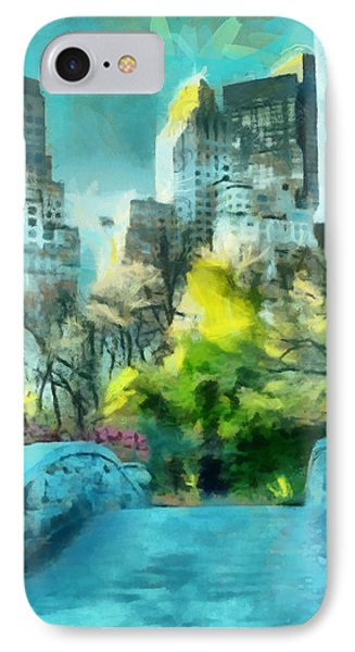 The City IPhone Case by Anthony Caruso