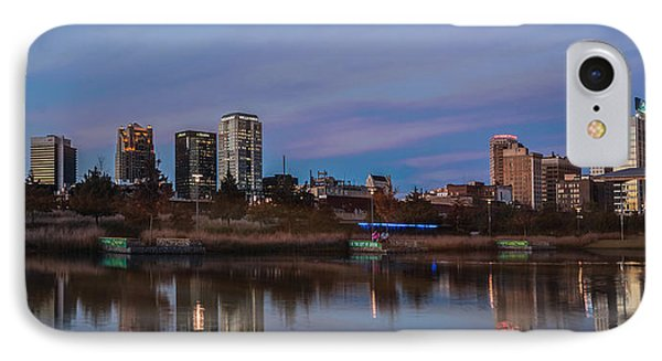 The City At Sunset Phone Case by Phillip Burrow