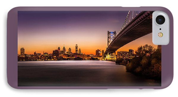 The City Of Philadelphia IPhone Case by Marvin Spates