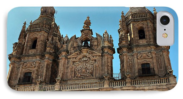 IPhone Case featuring the photograph The Clerecia Church In Salamanca by Farol Tomson
