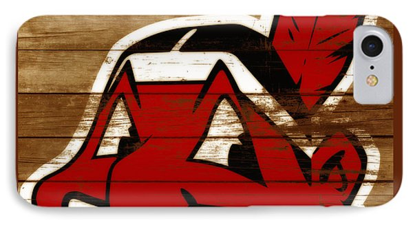 The Cleveland Indians 3b    IPhone Case by Brian Reaves