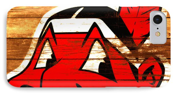 The Cleveland Indians 3e    IPhone Case by Brian Reaves