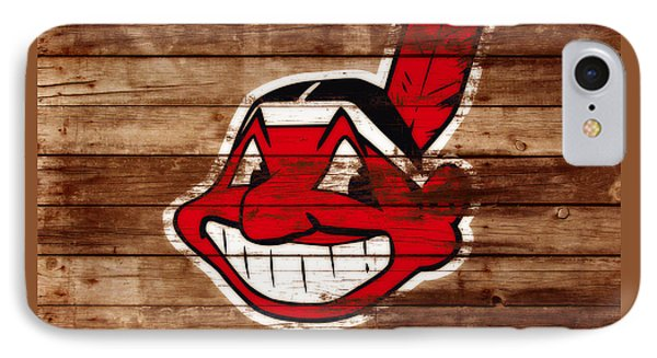 The Cleveland Indians C1 IPhone Case by Brian Reaves
