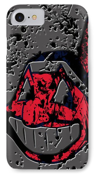 The Cleveland Indians1a IPhone Case by Brian Reaves