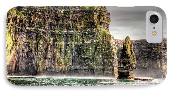 The Cliffs Of Moher IPhone Case by Natasha Bishop