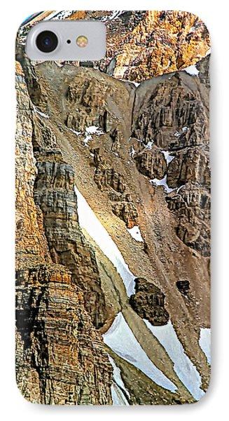 The Climb To Abbot's Hut Phone Case by Steve Harrington