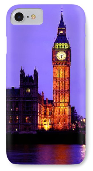 The Clock Tower Aka Big Ben Parliament London IPhone Case by Chris Smith